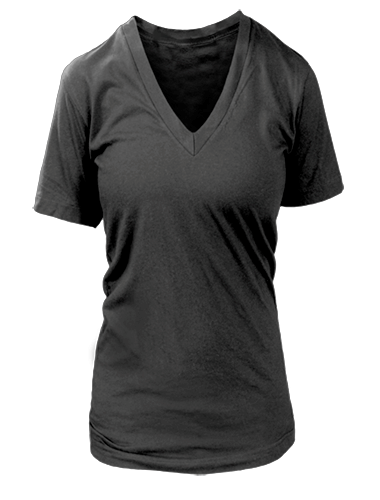 Ladies Vneck T-shirt